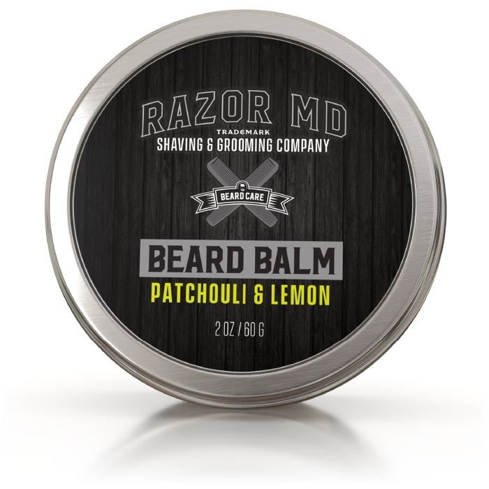 Beard Balm 2oz Patchouli & Lemon