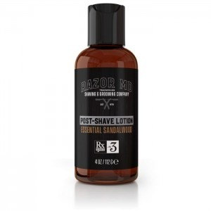 Essential Sandalwood Post Shave Lotion 4oz