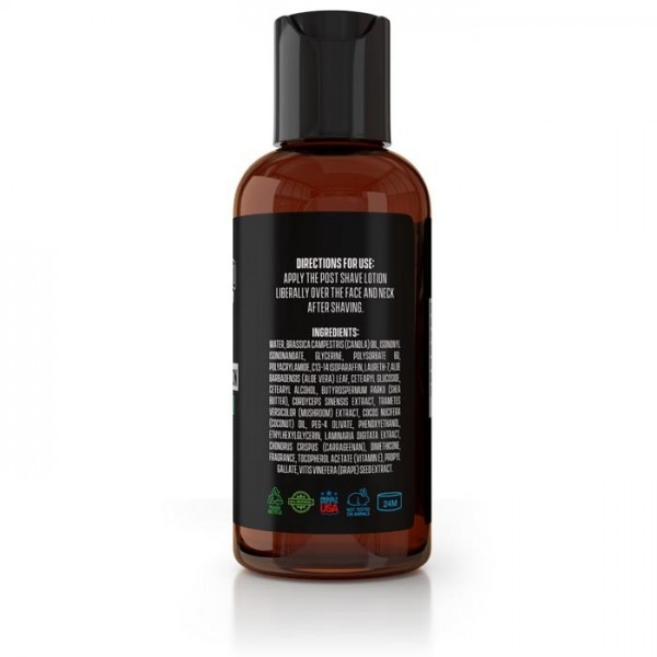 Natural Unscented Post Shave Lotion 4oz