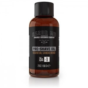 Essential Sandalwood Pre-shave Oil 2oz