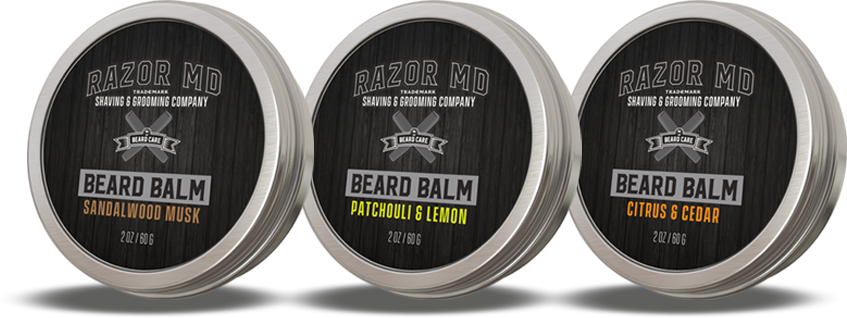 Beard balms collection
