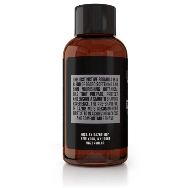 Natural Unscented Pre Shave Oil 2oz