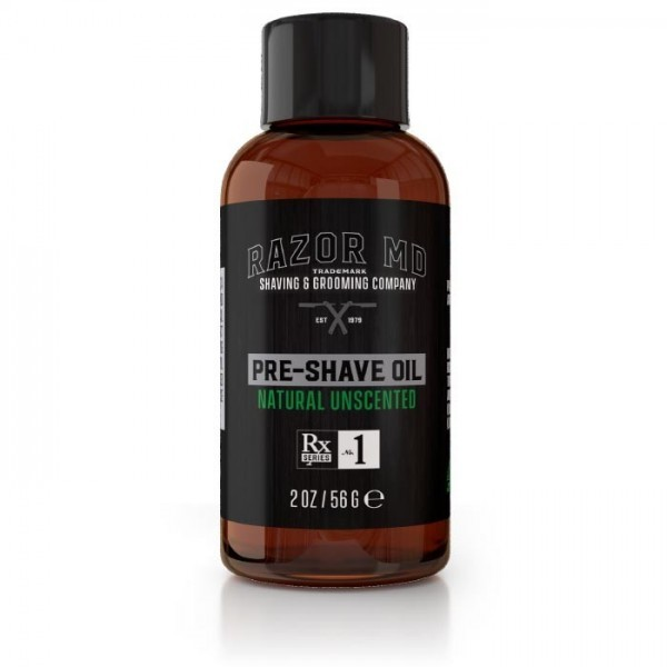 Natural Unscented Pre Shave Oil