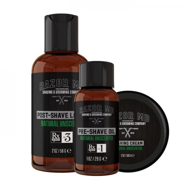 Natural Unscented Travel Trio